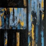 01 02 2010 acrylique sur toile 100 x 80