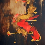 07 2011 acrylique sur toile 100 x 80